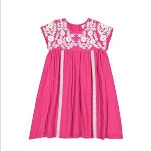 Masala baby little girls dress in pink